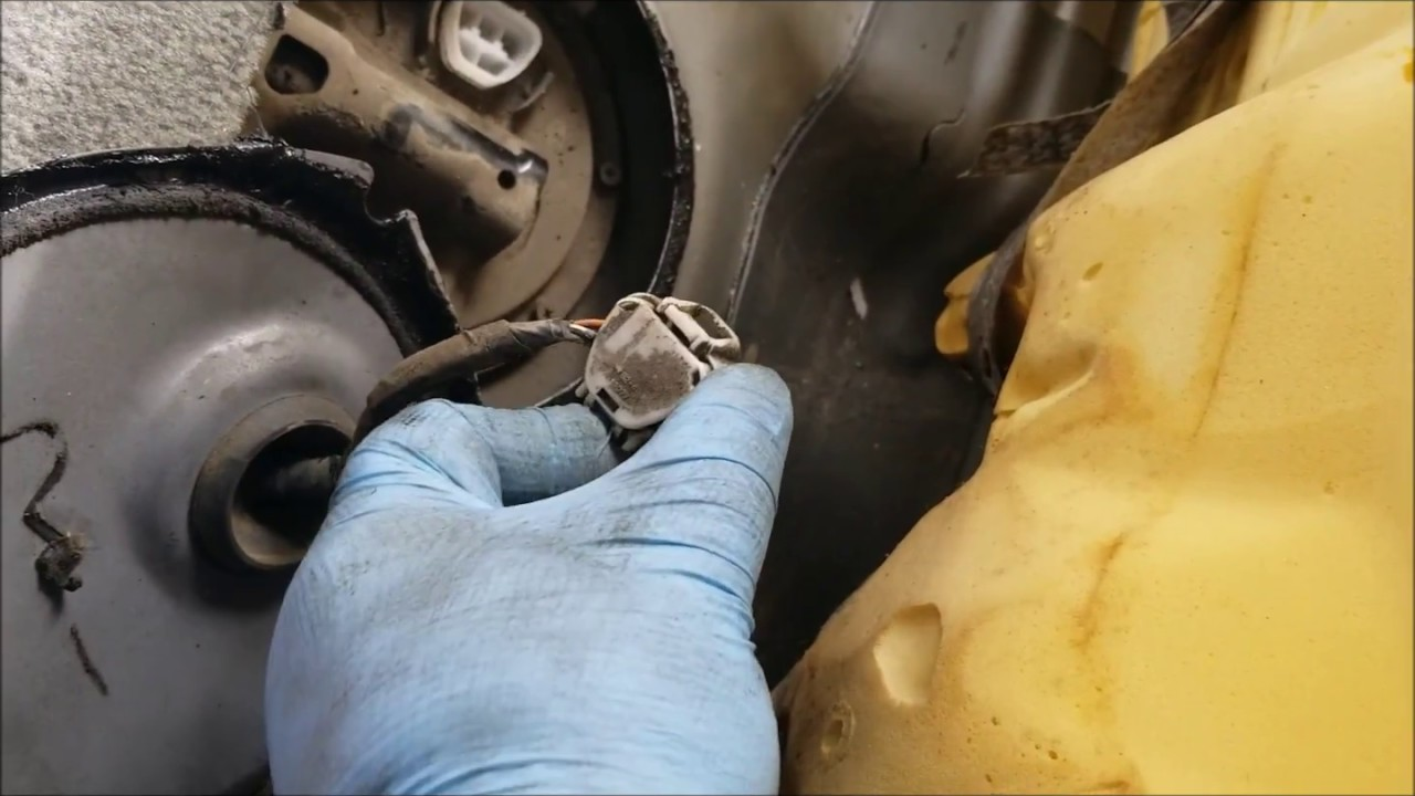 2001 toyota avalon xl fuel filter change replacement notes [ 1280 x 720 Pixel ]