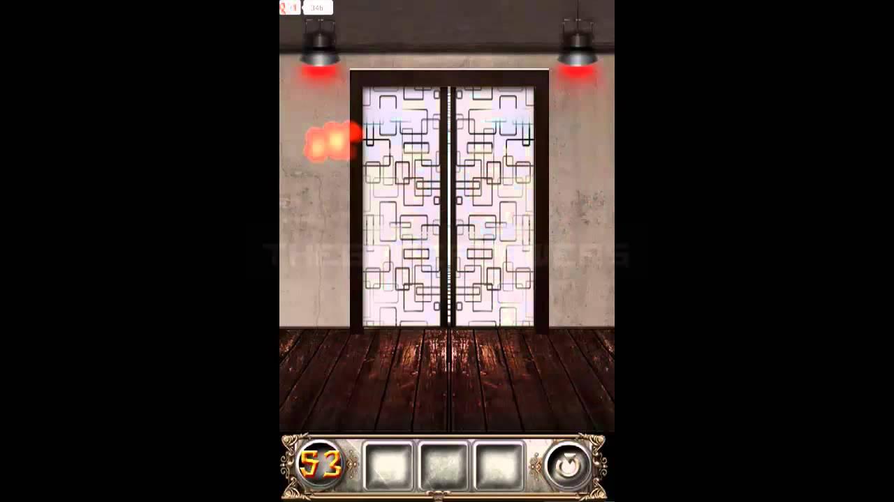 100 Doors Floors Escape Level 53 Walkthrough Guide Youtube