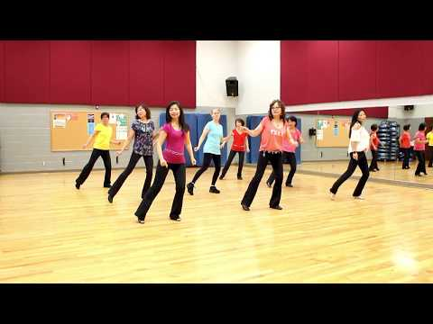 A Honky Tonk Highway - Line Dance (Dance & Teach in English & 中文)