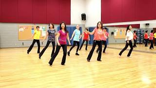 A Honky Tonk Highway - Line Dance (Dance & Teach in English & 中文)