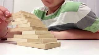 How To Build Popsicle Stick Stairs Tutorial