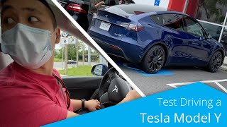 How to Test Drive a Tesla Model Y in 2020!