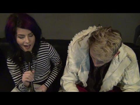 Julia interviews Machine Gun Kelly