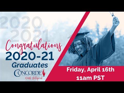 Concorde Career College North Hollywood Campus Spring 2021 Graduation
