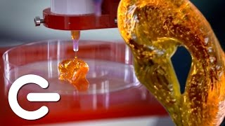 3D Printing Human Tissue - The Gadget Show