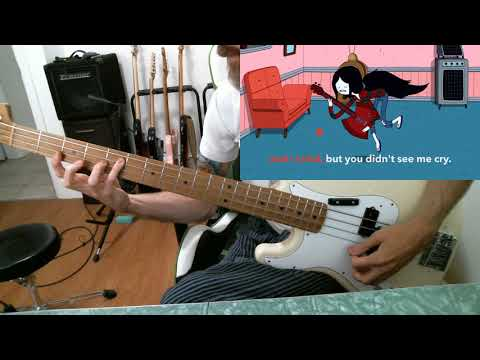 Marceline (Adventure Time) - Fry Song (bass cover)