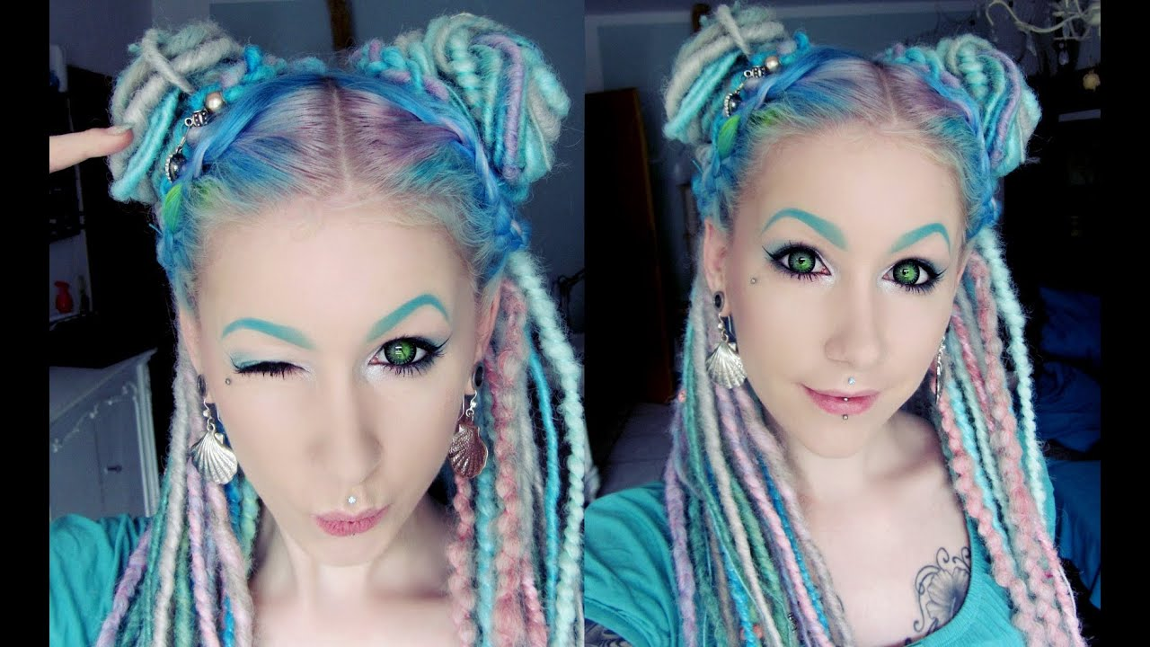 Fairy Buns Tutorial Dreads Edition By Cira Las Vegas