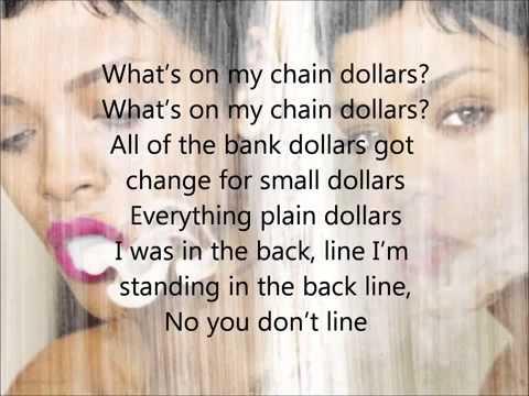 Rihanna   Fresh off the runway lyrics