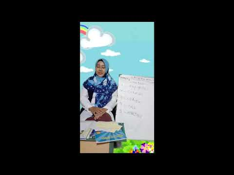 English class: Learning occupation for grade B TKIT ISLAMIC CENTRE PWD (Writing comprehension)