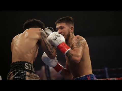 Nico Hernandez's Pro Debut - TITLE Boxing - First Professional Fight Highlights