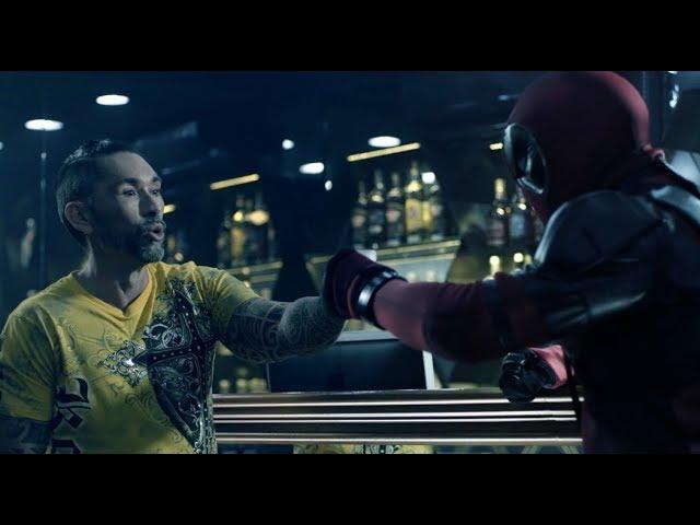 Deadpool y El Chino juntos en Chile.