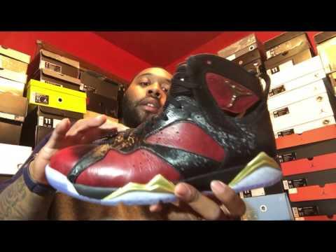 Air Jordan 7 DB *Doernbecher* sneaker review