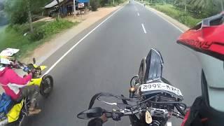 suzuki DRZ400sm Wheelie Action In Srilanka 2017