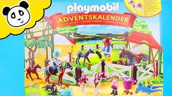 PLAYMOBIL REITERHOF ADVENTSKALENDER! - UNBOXING - Spielzeug auspacken & spielen - Pandido TV