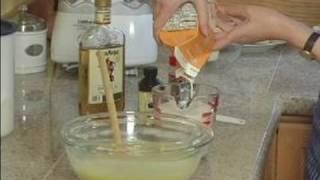 How To Make Eggnog Ice Cream : Adding Cream & Flavoring To Eggnog Ice Cream