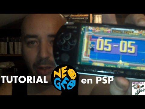 TUTORIAL# Emular NEO GEO en PSP
