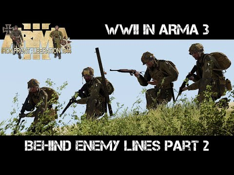 ArmA 3 Gameplay - WWII - Behind Enemy Lines part 2