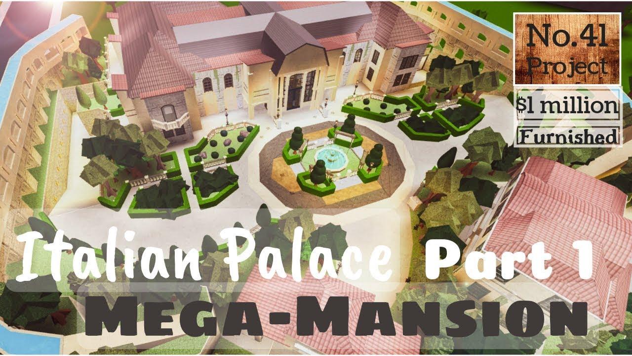 Mega Mansion Bloxburg Castle Ideas
