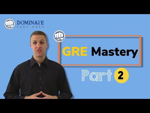 GRE Mastery Pt.2 - Top 4 GRE Math Strategies