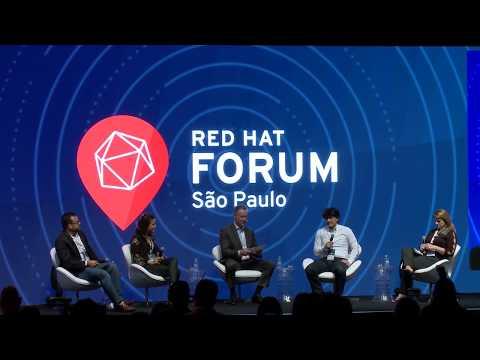 Red Hat Forum São Paulo 2017 - Painel de clientes