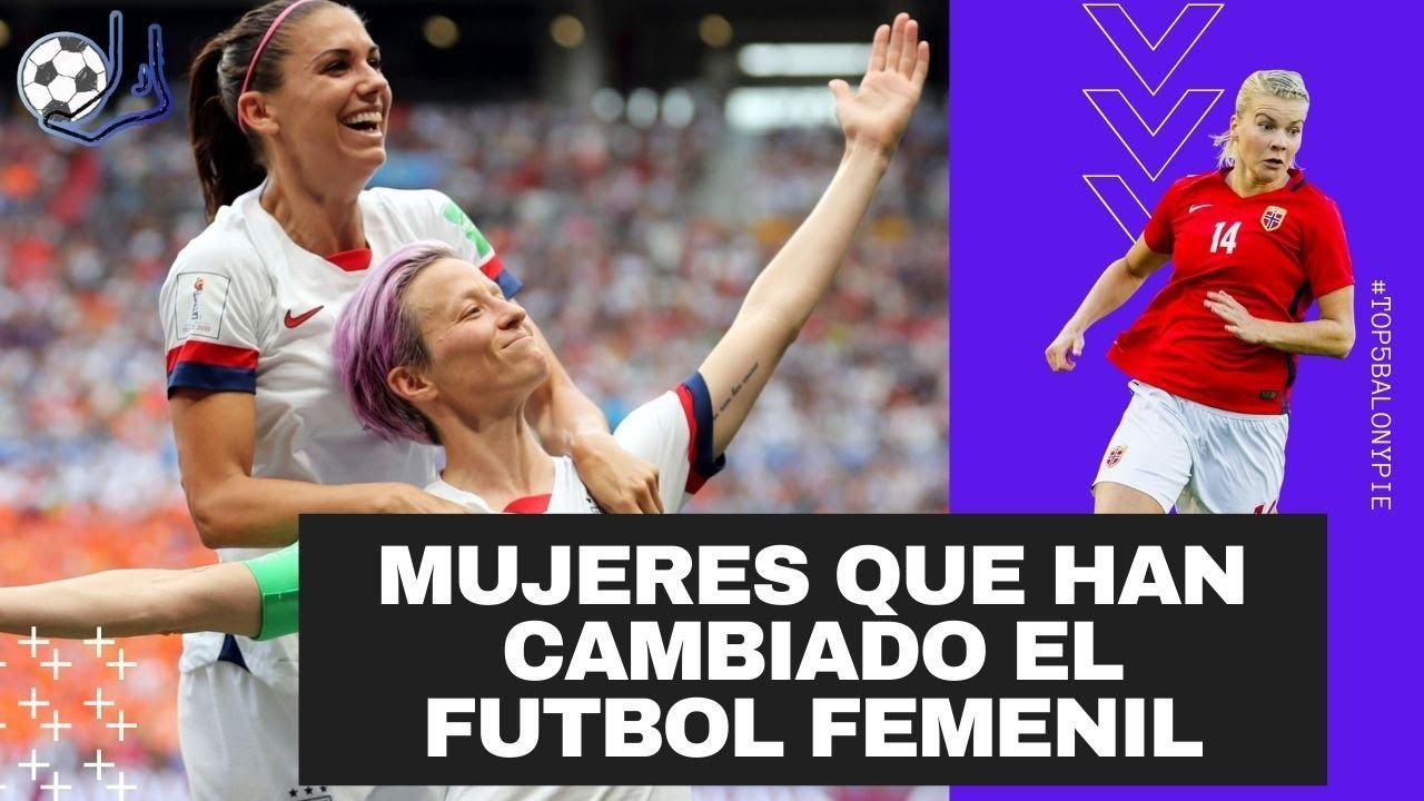 Mujeres que han cambiado la historia del Fútbol Femenil