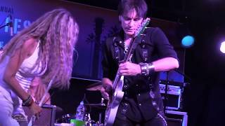STEVE VAI & Zepparella Babe I'm Gonna Leave You @ Malibu Guitar Festival 5-19-17