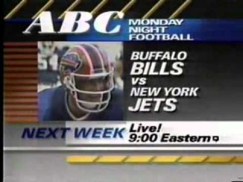 1988 Monday Night Football Close