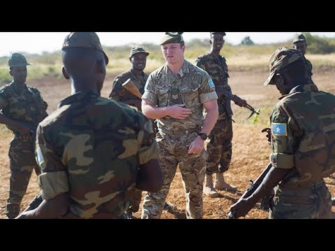 British Army help Somali National Army fight back against militants