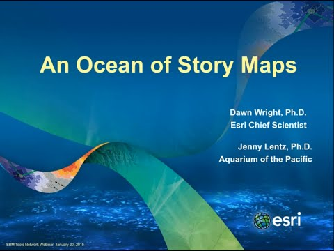 An Ocean of Story Maps