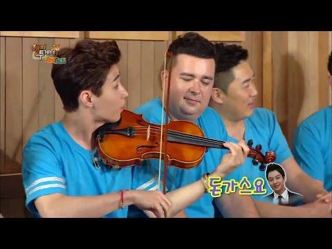 """헨리 (Henry) is playing """"Fantastic"""" + """"La Campanella"""" on violin"""