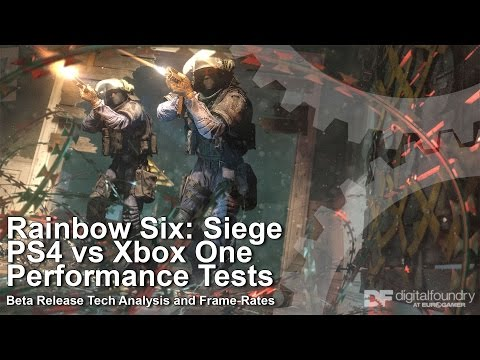 Digital Foundry: Hands-on with Rainbow Six: Siege