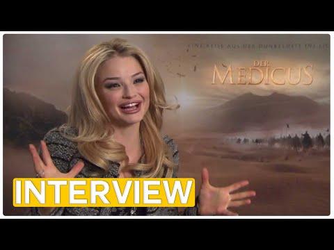 Der Medicus | Emma Rigby EXCLUSIVE Interview (2013)