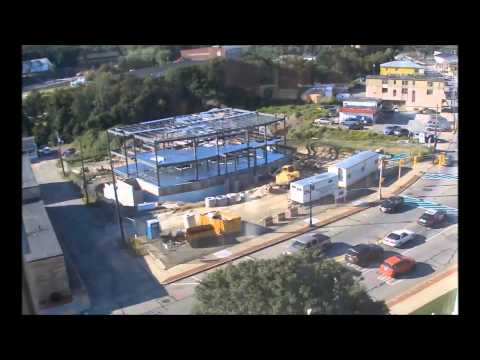 Webster Police New Station Construction Time Lapse