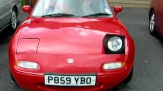 Mazda MX5 Winking Headlights
