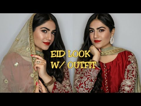 EID MAKEUP W/ FULL OUTFIT