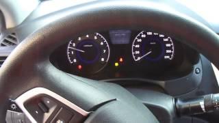 Заводим Солярис 1.6. Мороз 35.Cold start Hyundai Solaris 1.6. Frost 35.