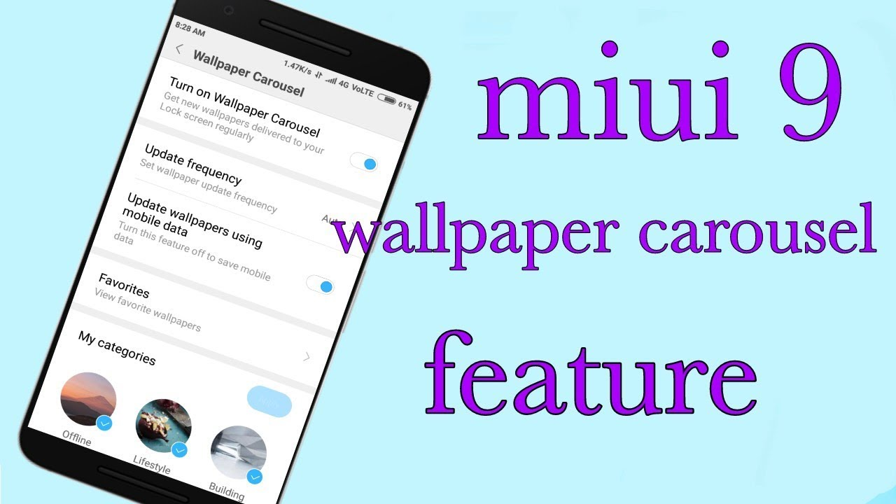 Wallpaper Carousel Hidden Features Youtube