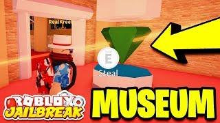 🔴 Roblox Jailbreak NEW DINOSAUR MUSEUM ROBBERY! NEW UPDATE TONIGHT!? | New Car, New Museum, & More!