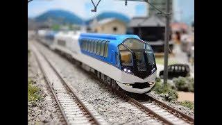 【Nゲージ鉄道模型】TOMIX近鉄50000系特急しまかぜ快走!自宅レイアウト運転会開催!