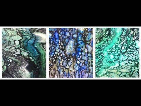 Day-11 Primary Elements- NEW Swipe-Direct color to acetate-& paint mixing- Leslie Ohnstad