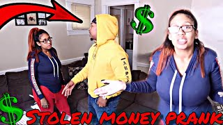 WHY YOU STEAL MY MONEY PRANK ON HUSBAND!!! (very funny)