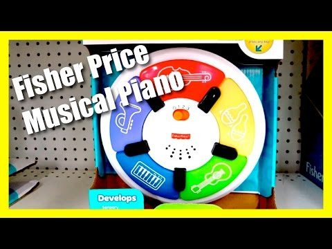 Fisher Price Learn With Lights Piano - 3 Levels Of Musical Play Toy Piano