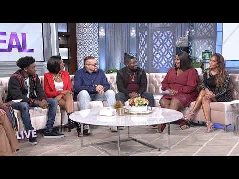 The Hosts of The Real and the cast of Rel!