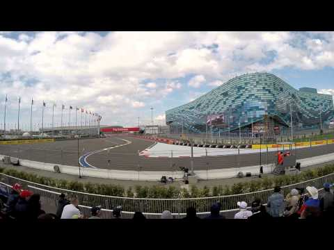 Formula 1 2015, Sochi Autodrom, T2 Tribune - Qualification