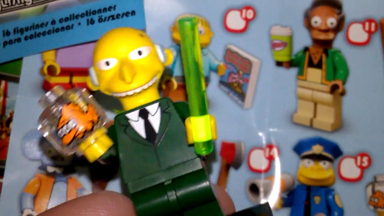 Burns NEW LEGO 71005 MINIFIGURES SERIES S Simpsons - Mr