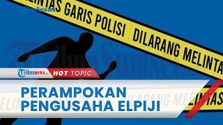 Perampokan di Rumah Pengusaha Elpiji di Padang, Menewaskan 1 orang, Barang Berharga Pun Ikut Raib