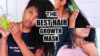 DIY AVOCADO MASK FOR HEALTHY HAIR MOISTURE SUPER FAST HAIR GROWTH Natural Curly Hair