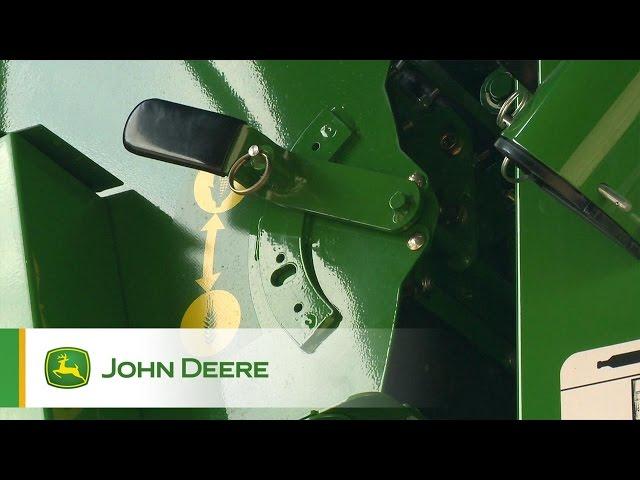Zmiana uprawy w kombajnach John Deere serii S