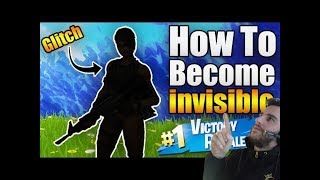 FORTNITE (INVISIBLE PLAYER GLITCH) COMPLETELY INVISIBLE TO EVERYONE! WORKING 2019