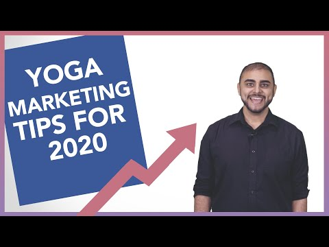 Yoga Business Marketing Tips in 2020